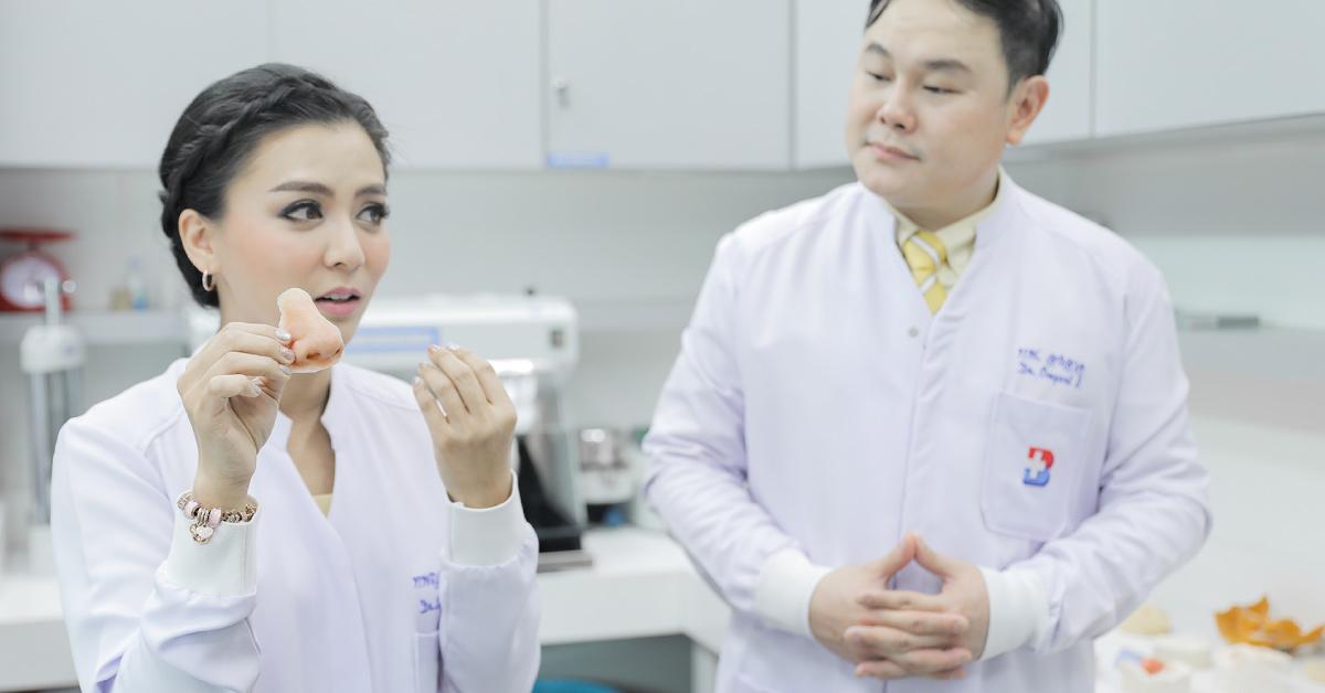 ศูนย์ทันตกรรม รพ.กรุงเทพ เปิดบริการทันตกรรมประดิษฐ์ อวัยวะเทียมบริเวณขากรรไกรและใบหน้า (Maxillofacial Prosthesis)