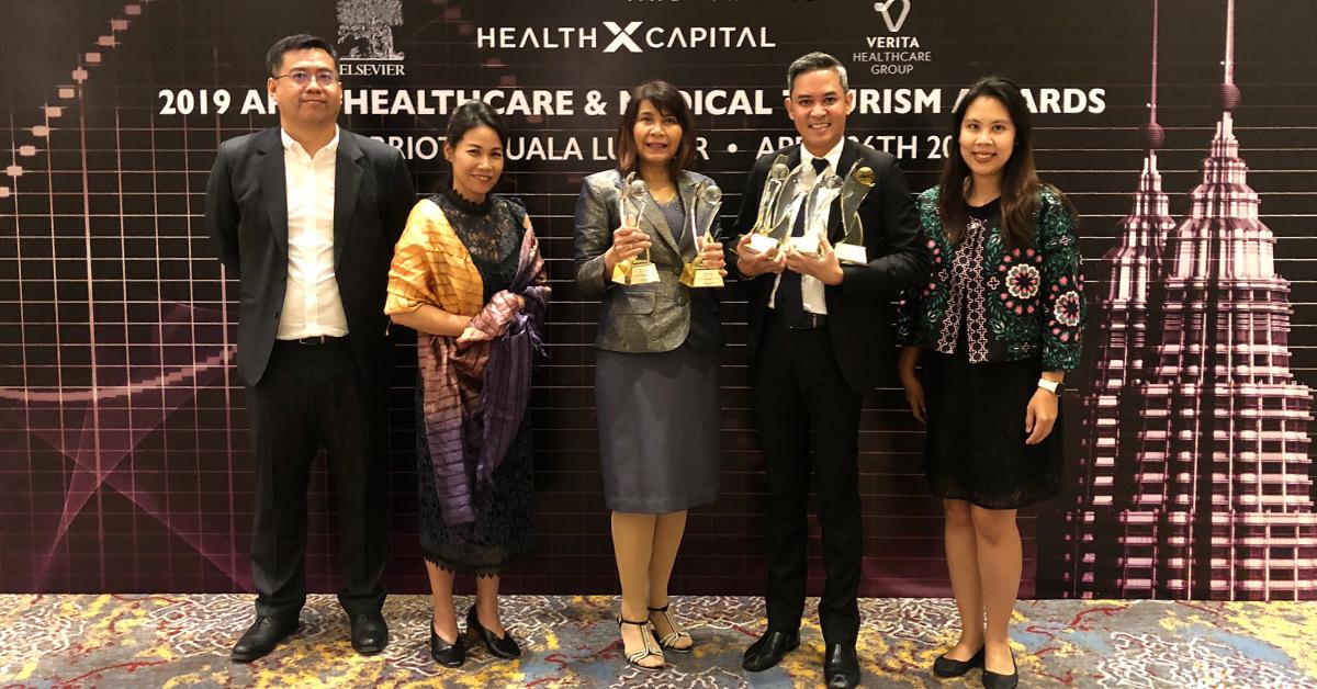 โรงพยาบาลกรุงเทพ และโรงพยาบาลสมิติเวช ในเครือ BDMS คว้ารางวัลใหญ่ระดับเอเชียแปซิฟิก