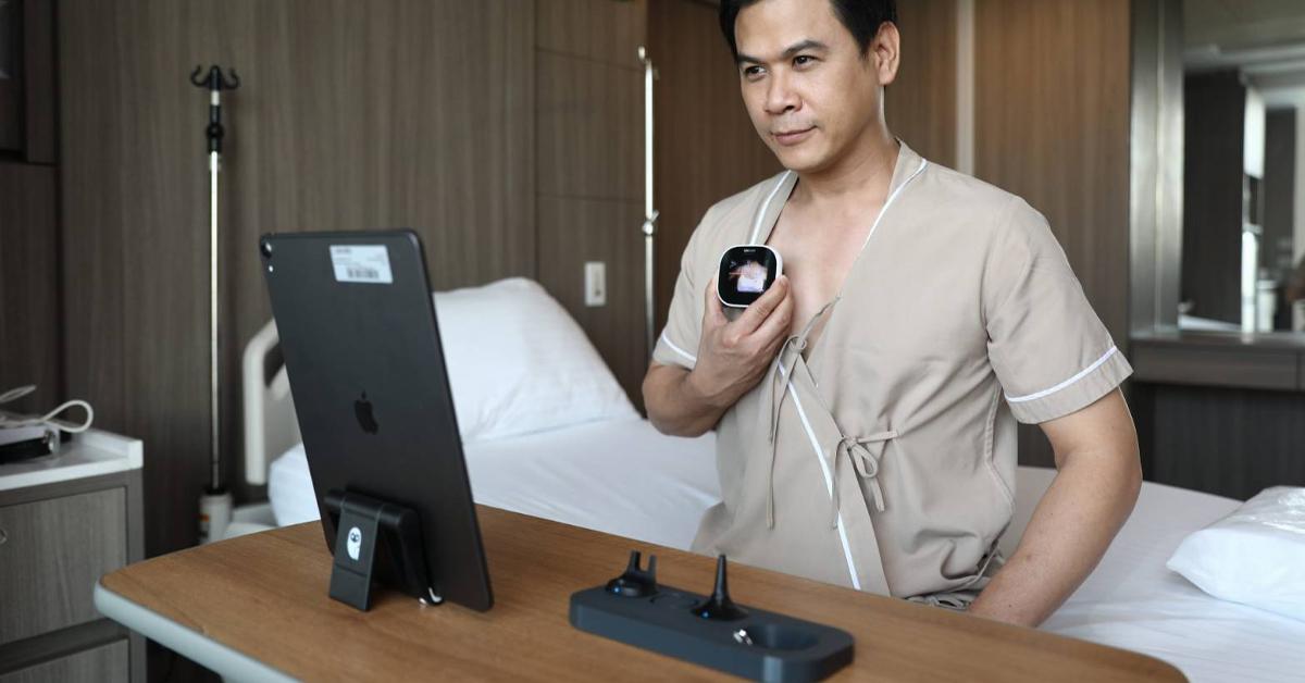 โรงพยาบาลในเครือ บีดีเอ็มเอสนำ Tytocare นวัตกรรมตรวจสุขภาพเบื้องต้น ช่วยลดการสัมผัสใกล้ชิดผู้ป่วยกลุ่มเสี่ยงไวรัสโควิด-19