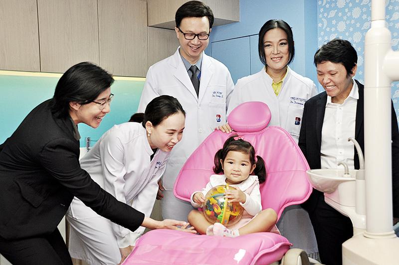 สุขภาพฟันเด็ก, ทันตกรรมเด็ก, ฟันดี